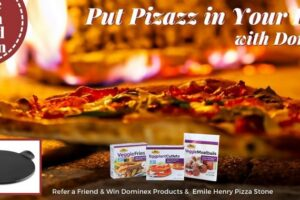 Dominex Products & a Emile Henry Pizza Stone Sweepstakes