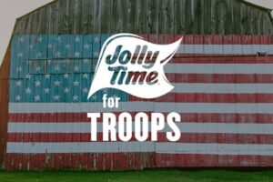 Jolly Time Popcorn JOLLY TIME For Troops Giveaway
