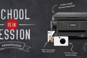 Canon School is In Session Sweepstakes