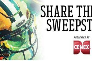 Green Bay Packers Share The Love Sweepstakes