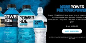 POWERADE More Power for Your Power Instant Win Game