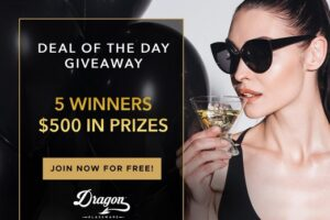 Dragon Glassware Deal Of The Day Giveaway