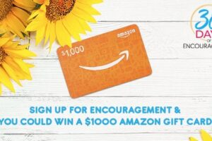 K-Love 30 Days Of Encouragement Challenge Sweepstakes