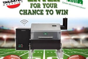 Tailgater Magazine Davy Crockett Grill Giveaway