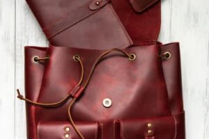 Holtz Leather Red Emerson Backpack Giveaway