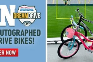 The 2020 Packers Autographed DreamDrive Bike Sweepstakes
