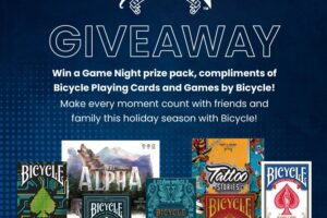 Game Night Prize Pack, brought to you by Bicycle Sweepstakes