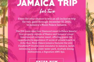 iHeartRadio Trip to Jamaica Sweepstakes