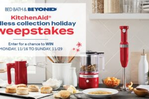 Bed Bath & Beyond KitchenAid Cordless Collection Holiday Sweepstakes