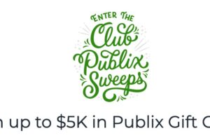 Publix Club Publix Sweepstakes