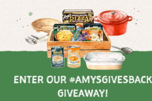 Amy's Gives Back 2020 Sweepstakes