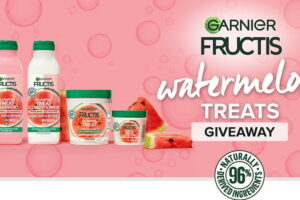 Garnier Fructis Its Our Treat Watermelon Treats Sweepstakes