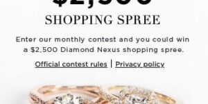 Diamond Nexus $2,500 Giveaway