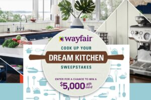 Food Network Wayfair's Cook Up Your Dream Kitchen Sweepstakes