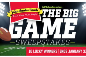 John Soules Foods The Big Game Sweepstakes