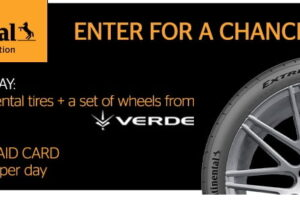 Continental Tire Weekly Winter Instant Win Game